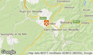 Carte La Bresse Hohneck Appartement 4533