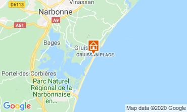 Carte Gruissan-Plage Chalet 113568