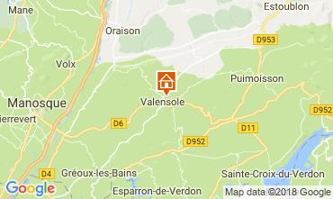 Carte Valensole Villa 65599