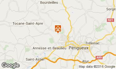 Carte Périgueux Gite 54756