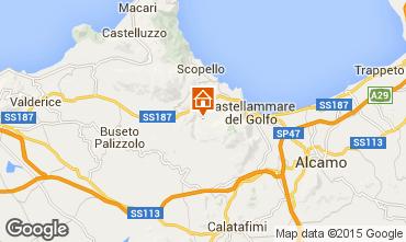 Carte Castellammare del Golfo Villa 77449