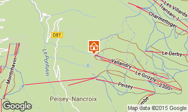 Carte Peisey-Vallandry Appartement 90871