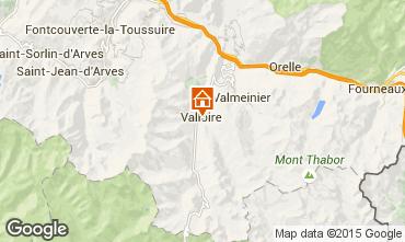 Carte Valloire Chalet 100651