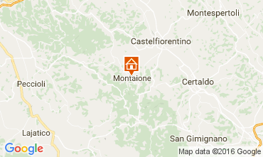 Carte Gambassi Terme Villa 107501