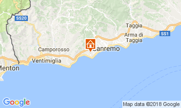 Carte Sanremo Villa 110839