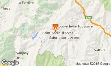 Carte Saint Sorlin d'Arves Studio 2689