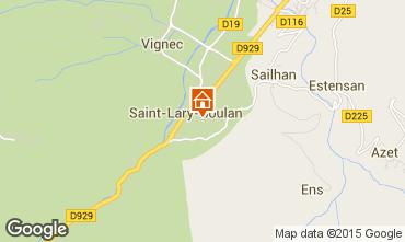 Carte Saint Lary Soulan Appartement 82438
