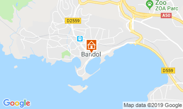 Carte Bandol Appartement 117830