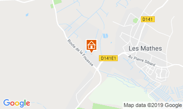 Carte Les Mathes Mobil-home 118132
