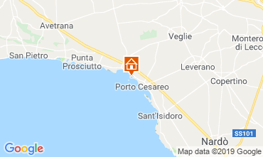 Carte Porto Cesareo Appartement 119619