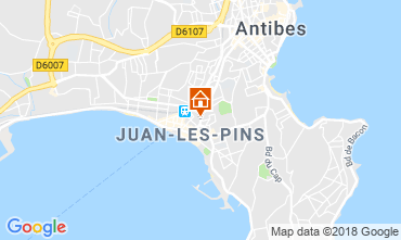 Carte Juan les Pins Appartement 80674