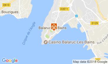 Carte Balaruc les Bains Studio 115962