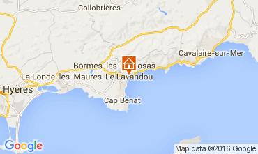 Carte Le Lavandou Studio 8589