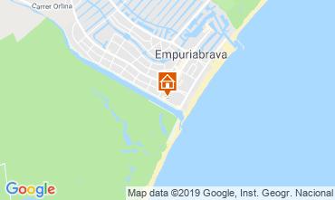 Carte Empuriabrava Appartement 93567