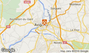 Carte Avignon Studio 59338
