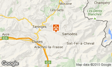 Carte Morillon Grand Massif Chalet 83014
