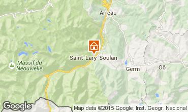 Carte Saint Lary Soulan Studio 80914
