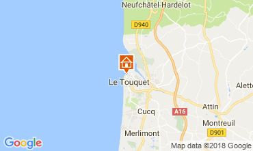 Carte Le Touquet Studio 104169