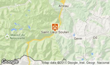 Carte Saint Lary Soulan Appartement 91107