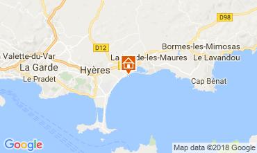 Carte Hyères Appartement 113942