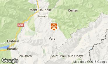 Carte Vars Chalet 28301