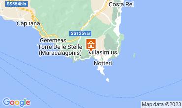 Carte Villasimius Villa 116186