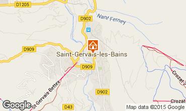 Carte Saint Gervais Mont-Blanc Appartement 2561