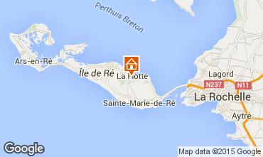 Carte La Flotte en Ré Villa 75537