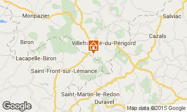 Carte Villefranche du Périgord Gite 51192