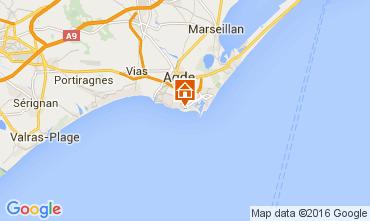 Carte Cap d'Agde Appartement 99553