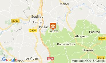 Carte Rocamadour Gite 113144