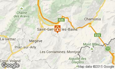 Carte Saint-Gervais-les-Bains Appartement 2555