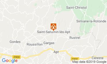 Carte Saint Saturnin les Apt Gite 118958