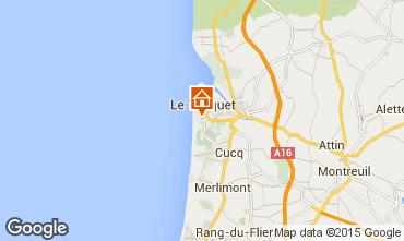 Carte Le Touquet Appartement 69679