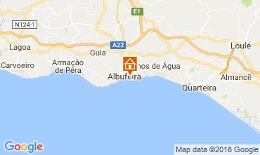 Carte Albufeira Villa 116032