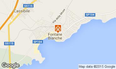 Carte Fontane Bianche Villa 77117