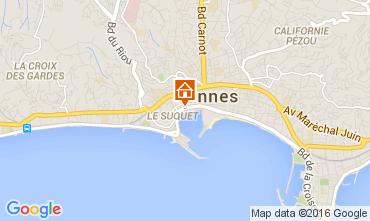 Carte Cannes Appartement 103739