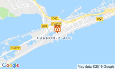 Carte Carnon Plage Studio 117961