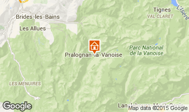 Carte Pralognan la Vanoise Appartement 2287