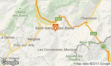 Carte Saint Gervais Mont-Blanc Appartement 58539