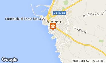 Carte Alghero Appartement 89476