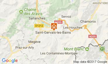 Carte Saint Gervais Mont-Blanc Appartement 112570