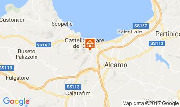 Carte Castellammare del Golfo Villa 108381