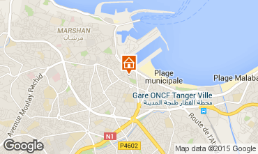 Carte Tanger Appartement 40332