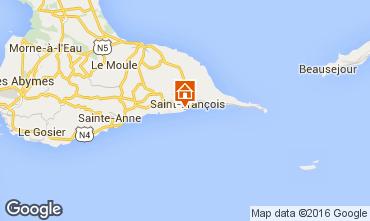 Carte Saint Francois Appartement 102701