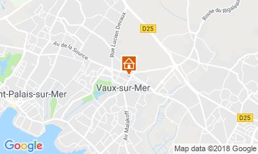 Carte Vaux sur Mer Appartement 116368