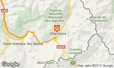 Carte Chamonix Mont-Blanc Appartement 669