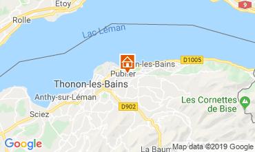 Carte Evian les Bains Appartement 106719