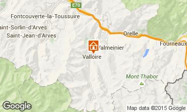 Carte Valloire Chalet 27264