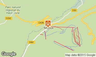 Carte Monts Jura Appartement 59712